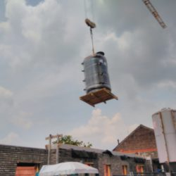Géothermique 42 kw pour 8 appartement systeme central avec 3 pompe à chaleur de CTC!